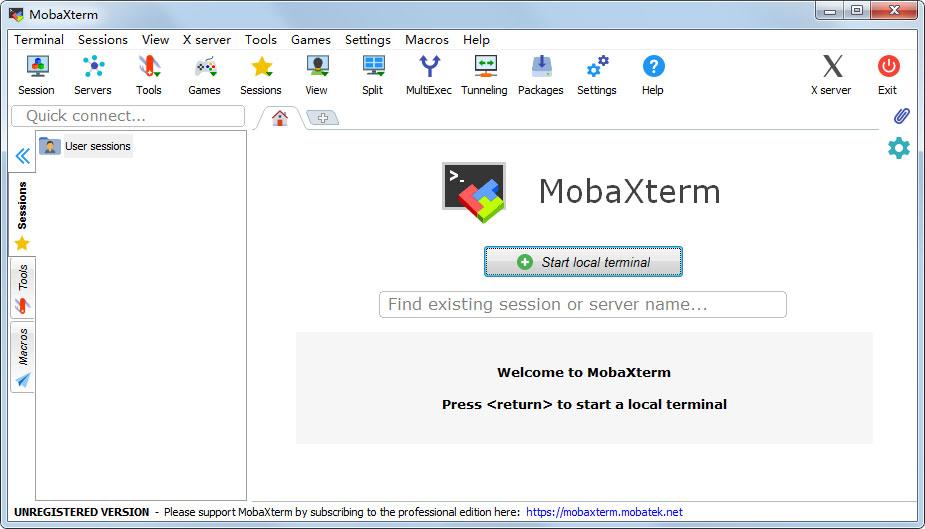 【远程监控软件下载】MobaXterm Pro(远程连接软件) V20.2 绿色安装英文版 监控