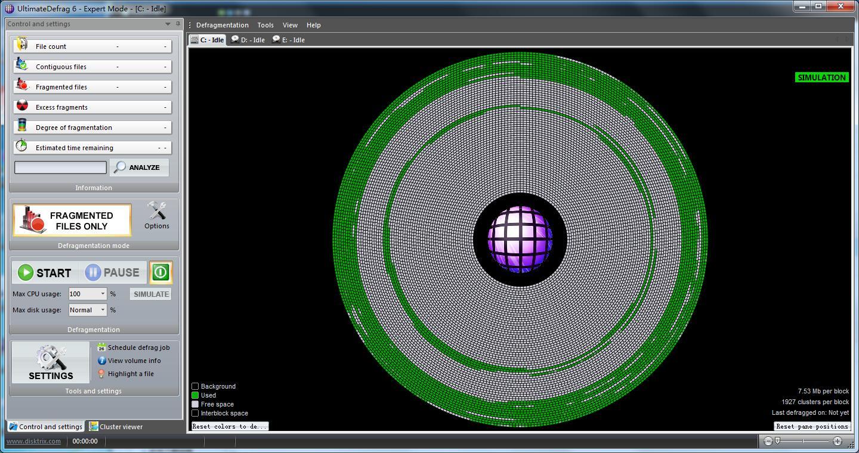 UltimateDefrag下载_UltimateDefrag(磁盘碎片整理) V6.0.62.0 英文安装版 62.0