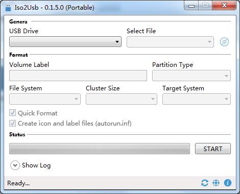 Iso2Usb软件下载_Iso2Usb V0.1.5.0 绿色安装英文版 下载