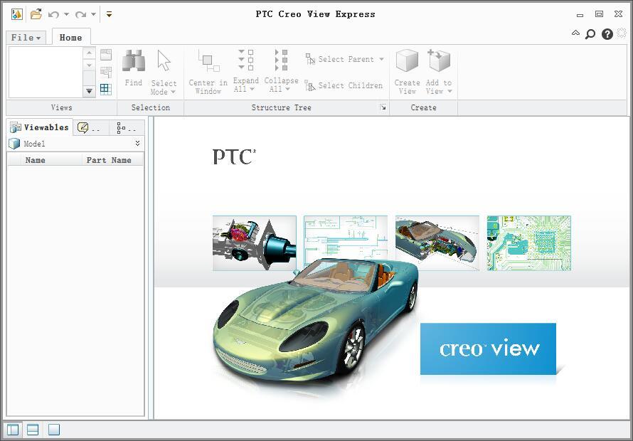 PTC Creo View Express下载_PTC Creo View Express V3.1 英文安装版 名称