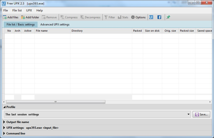 Free UPX下载_Free UPX V2.3 多国语言安装版 自定义