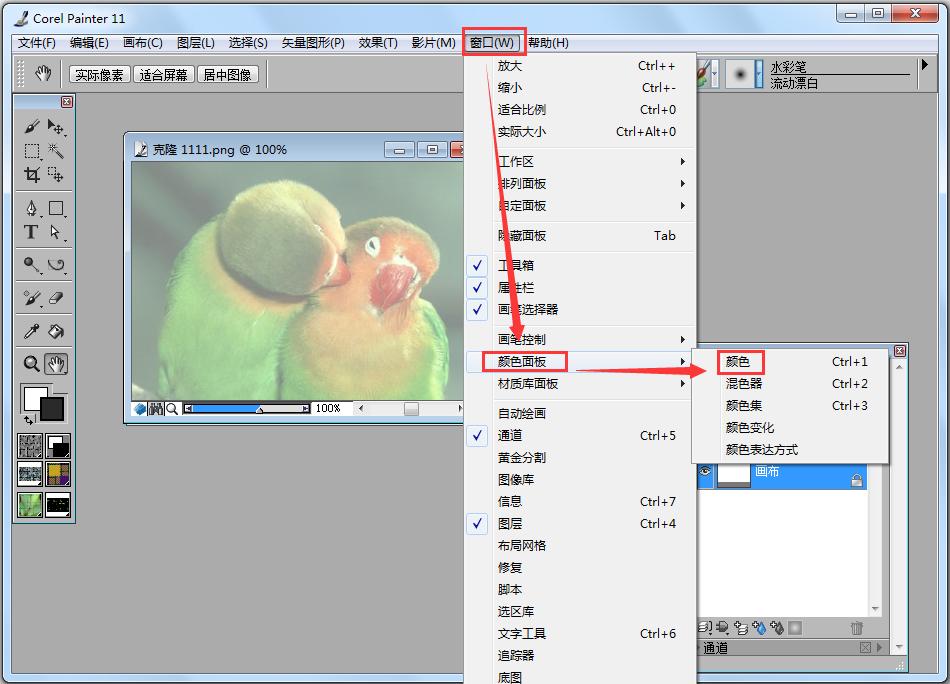 Corel Painter下载_Corel Painter(绘图软件) V11.0.026 汉化安装版 汉化