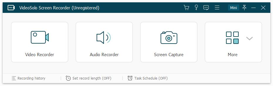 VideoSolo screen recorde下载_【屏幕录像软件下载】VideoSolo screen recorder(屏幕录像软件) V1.1.16 英文安装版 音频