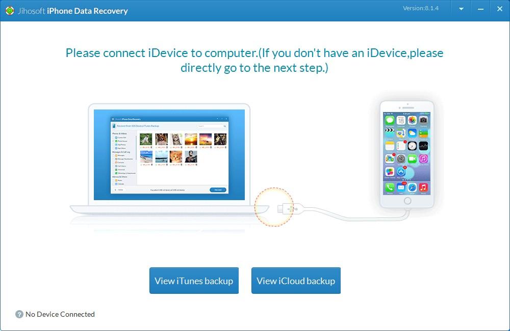 Jihosoft iPhone Data Recovery_【数据恢复软件下载】Jihosoft iPhone Data Recovery V8.1.4.0 多国语言安装版 iOS