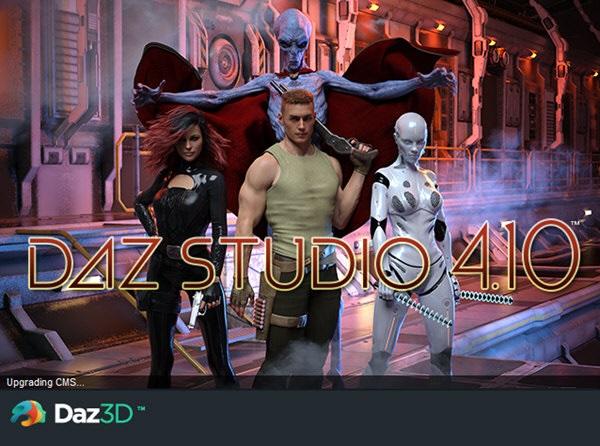 DAZ Studio下载_DAZ Studio V4.11 汉化版 ZBrush