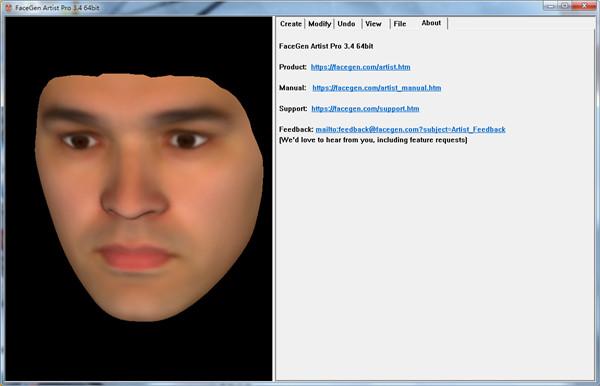 FaceGen Artist Pro3下载_FaceGen Artist Pro3(3D脸部建模软件) V2021 官方版 脸部
