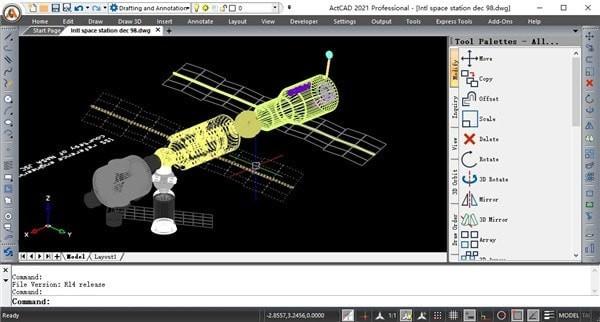 ActCAD Professional下载_ActCAD Professional 2021 V10.0 官方版 改进