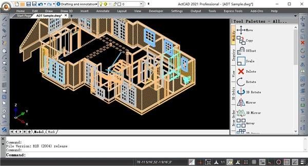 ActCAD Professional下载_ActCAD Professional 2021 V10.0 官方版 2021